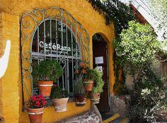 A charming cafe in San Miguel de Allende MX