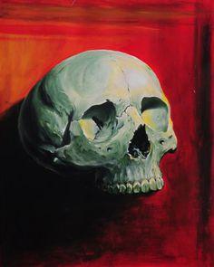 by Doctor Pepper Art Hub, Dr Pepper, Tattoo Artists, Artworks, Skull, Pastel, Studio, Painting, Cake
