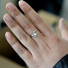 Suicide Awareness Semicolon Ring