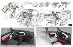 Interior sketch - Laurent Negroni