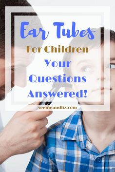 Tips about ear tubes surgery for children. Find out why ear tubes may be necessary and how childhood ear infections can effect speech-language development Ear Tubes, Family Child Care, Operation, Educational Games For Kids, Ear Infection, Language Development, Child Development, Sick Kids, Learning Through Play