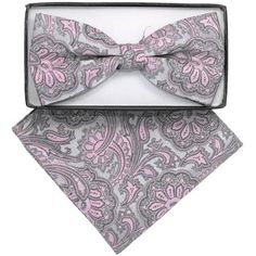 thedappertie-bh-1984-mens-pink-and-grey-paisley-pre-tied-bow-tie-and-handkerchief-set_4450148.jpg (450×450)