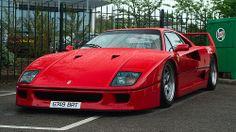 my favorite Ferrari. and a dream car. its a Ferrari F40