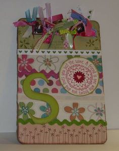 Sweet Dreams Clipboard by burnspbacon - Cards and Paper Crafts at Splitcoaststampers