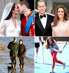 Kate and William´s first wedding anniversary
