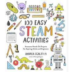 Booktopia has 100 Easy STEAM Activities, Awesome Hands-On Projects for Aspiring Artists and Engineers by Andrea Scalzo Yi. Buy a discounted Paperback of 100 Easy STEAM Activities online from Australia's leading online bookstore. Steam Activities, Sensory Activities, Toddler Activities, Learning Activities, Vocabulary Activities, Preschool Worksheets, Dry Ice Experiments, Suncatcher, Sensory Bottles