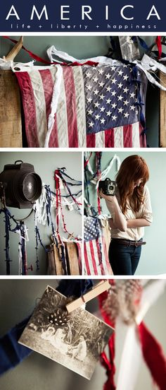 Happy 4th of July! Via Creature Comforts.  Awesome styling.