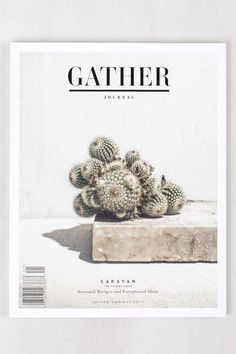 """The Spring/Summer 2014 desert issue of Gather Journal uses the word """"Caravan"""" as its guide."""