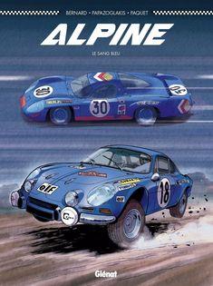 Alpine, le sang bleu par Denis Bernard, Christian Papazoglakis et Robert Paquet (Glénat)