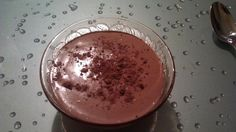 """""""Heaven in a cup"""" - Chocolate mousse"""