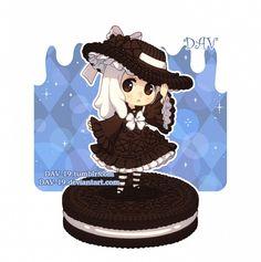 Chibi by on DeviantArt Cute Anime Chibi, Kawaii Chibi, Kawaii Art, Cute Food Drawings, Cute Kawaii Drawings, Chibi Girl Drawings, Chibi Food, Chibi Characters, Dibujos Cute