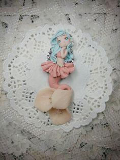 #fimo #handmade #polymerclay #marmeid #cherryflower #blossom #sweety