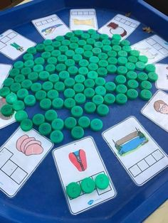 Create a fun phonics activity with our free CVC word cards. Print them out and pop them in a tuff tray with letter counters for a fun and engaging language activity. Fun Phonics Activities, Teaching Phonics, Language Activities, Literacy Activities, Preschool Activities, Literacy Centers, All About Me Activities Eyfs, Nursery Activities Eyfs, Sight Word Activities