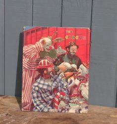 Vintage Circus Book Published 1961 - Vintage Circus Photos by theindustrycottage…