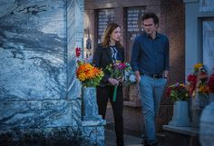 Kristen Connolly as Jamie Campbell and Billy Burke as Mitch Morgan. Season 1, Episode 3