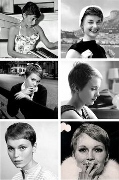 Classic Vintage Hairstyles for Pixie Cuts In 2020 Pin On Beaux Cheveux Pixie Hairstyles, Pixie Haircut, Vintage Hairstyles, Cool Hairstyles, Pixie Styles, Short Hair Styles, Grown Out Pixie, Short Hair Cuts, Pixie Cuts