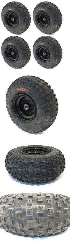 Parts and Accessories 64657: (4) Knobby Tires 145X70-6 145 70-6 Atv Go Cart Kart Mini Bike 50 90 110Cc Engine -> BUY IT NOW ONLY: $109.99 on eBay!