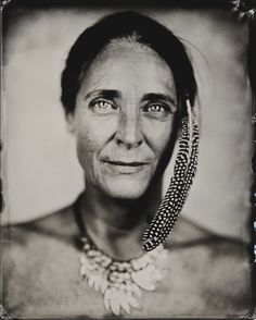 "Rudger Smits: 8x10"" wet plate collodion black ambrotype"