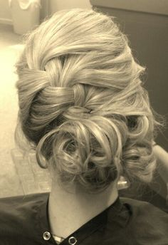 Homecoming updo I styled!!