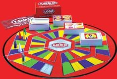The Logo Board Game! My kinda game! Indoor Games For Kids, Outdoor Games, Games Box, Board Games, Fun Games, Giant Yard Games, Garage Game Rooms, School Carnival Games