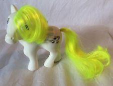 """Objet de collection vintage G1 My Little Pony """"honeycomb"""" uk exclusive Pegasus 1984 rare"""