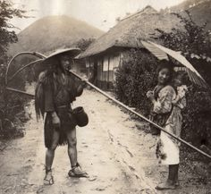 """Taken in 1914. This photo is from an album Elstner Hilton compiled in Japan between 1914 and 1918. Elstner was my spouse's uncle. """" Text and images via Alan on Flickr. The Kimono Gallery"""