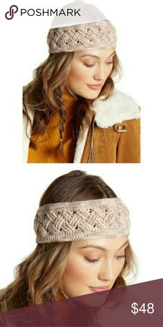 "Helen Kaminski headband Pink Details: - Braided knit construction - Approx. 4"" width - Imported - 100% Wool  Not Free People headband, not Anthropologie, not Urban Outfitters headband, not Tory Burch Helen Kaminski Accessories Hair Accessories"