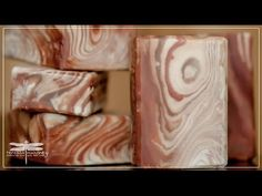 the making of forest bark soap - YouTube