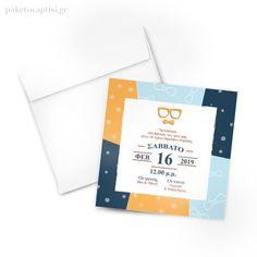 Προσκλητήριο Βάπτισης Γυαλάκια Invitations, Books, Libros, Book, Save The Date Invitations, Book Illustrations, Invitation, Libri