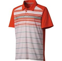 Oakley Legacy Stripe Polo Only $29.99 Was $60!
