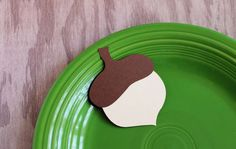 Thanksgiving  Acron Place Cards Set of 12 by tiffzippy on Etsy, $4.00