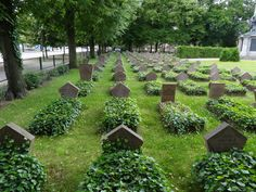 Soviet war cemetery, Potsdam, Germany.