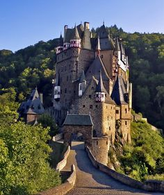 Brought to you by Tickled Pink Homes. http://tickledpinkhomes.com  Burg Eltz Castle, Münstermaifeld, #Germany
