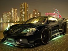 Are you looking black sports car? If yes, then it's for you. I am sure that you love this car.