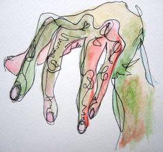 Egon Schiele Hand