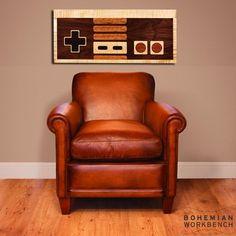 Nintendo+Controller+Wall+Art