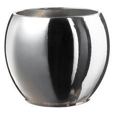 Alberta – Ασημί Vase, Home Decor, Decoration Home, Room Decor, Vases, Home Interior Design, Home Decoration, Interior Design, Jars