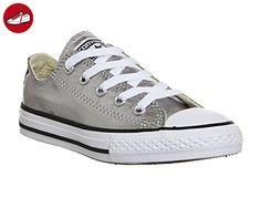 Converse Unisex-Baby-Schuhe Chuck Taylor All Star Core Ox, Segeltuch, mehrfarbig - Gunmetal Metallic - Größe: 31 EU Jugendliche - Kinder sneaker und lauflernschuhe (*Partner-Link)