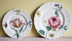 Villeroy and Boch Bouquet dinner plates old by MyVintagePorcelain