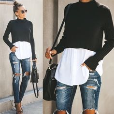 Mode Outfits, Chic Outfits, Fall Outfits, Fashion Outfits, Casual Fashion Style, Ladies Outfits, Best Casual Outfits, Fashion Styles, Fashion Fashion