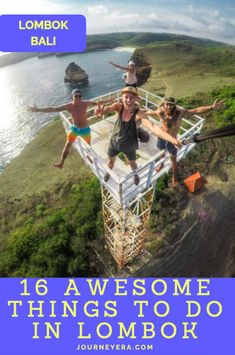 The ultimate Lombok Bucketlist: 16 Awesome & Adventurous things to do in Lombok, which is an island only a one-hour flight away from Bali, Indonesia! Bali Travel Guide, Asia Travel, Travel Tips, Caramoan Island, Kawasan Falls, Sunset Point, Adventurous Things To Do, Bali Lombok, Amazing Adventures