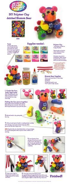 Make a polymer clay character!