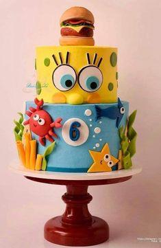 Ideas birthday cake flavors ideas parties - Ideas birthday cake flavors ideas parties Ideas birthday cake f - Crazy Cakes, Fancy Cakes, Cute Cakes, Fondant Cakes, Cupcake Cakes, Birthday Cake Flavors, Cake Birthday, Crazy Birthday Cakes, Diy Birthday