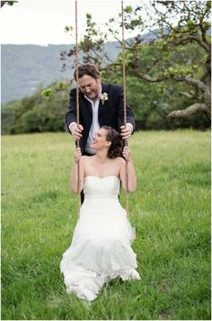 Bride Swing | Watercolor Ranch Styled Wedding | Laura Hernandez Photography