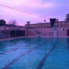 pool, sky, and grunge image Vaporwave, Blue Neighbourhood, Just Dream, Purple Aesthetic, Imagines, Photos, Pictures, Night Skies, Belle Photo