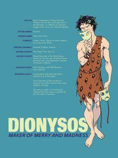 """""""Dionísio: deus da Alegria e da Loucura"""""""