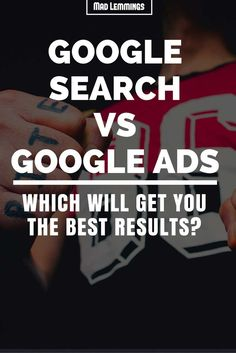 Organic vs Paid Search Ads – Are You Wasting Your Money? Online Advertising, Online Marketing, Search Advertising, Social Advertising, Media Marketing, Search Ads, Search Engine Marketing, Google Ads, Social Networks