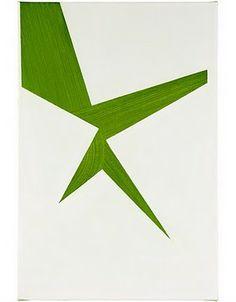 Robert Holyhead, Untitled (shaped), 2006, oil on canvas, 46 x 30.5 cm