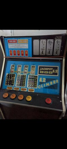 £2 Climber by Bell Fruit Climbers, Pinball, Arcade Games, Jukebox, Fruit, Classic, Derby, Classic Books