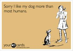 Someecards Tumblr | ... dog more than most humans. / Apology Ecard / someecards.com on imgfave